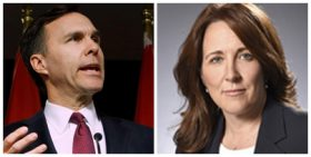 Bill Morneau-Carolyn Rogers