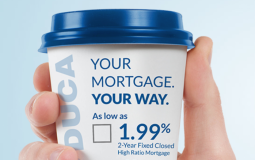 DUCA just launched Canada's lowest mortgage rate, a 1.99% two-year fixed