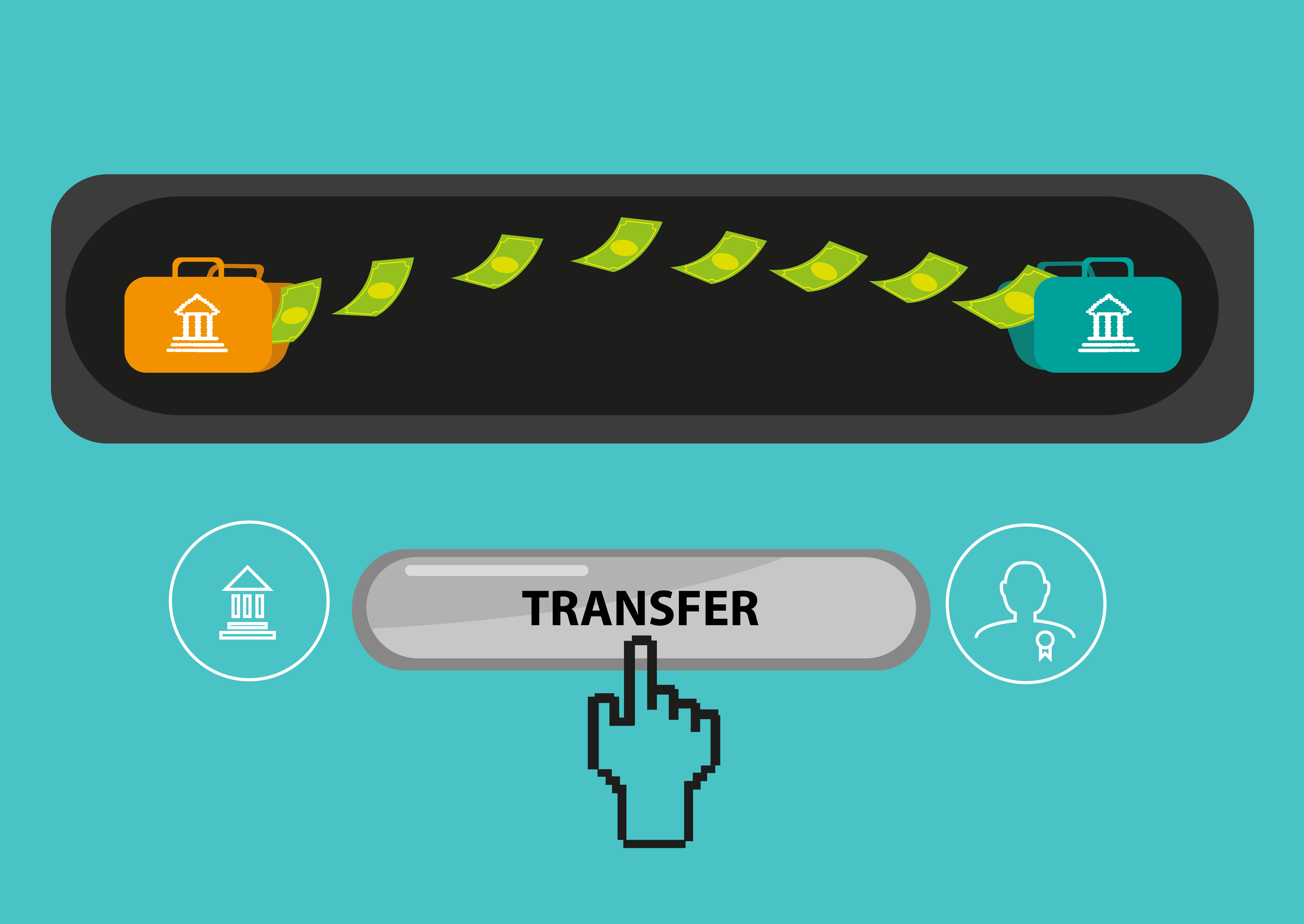 transfer money between banks