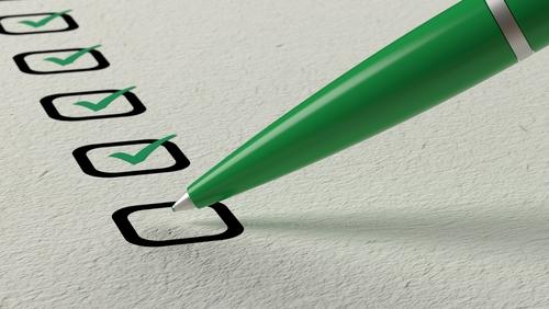 mortgage term checklist