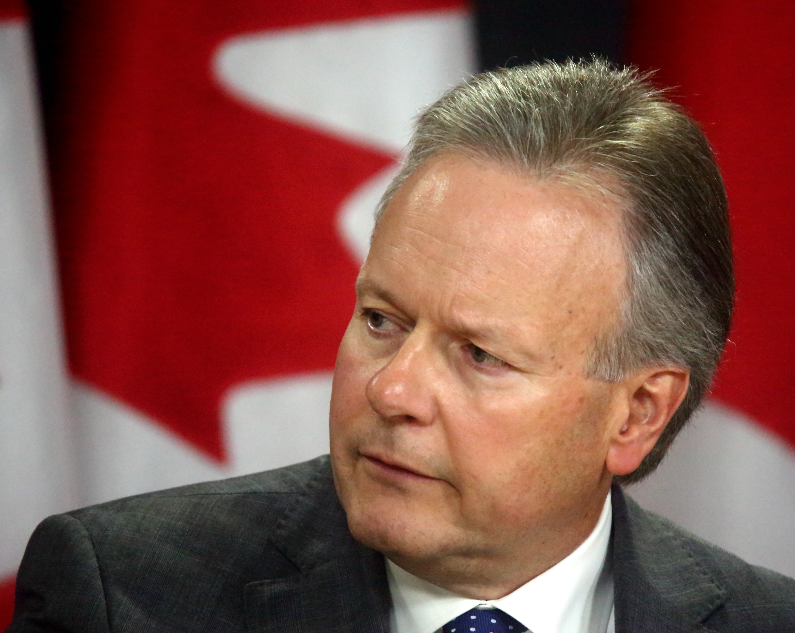 Bank of Canada Governor Stephen Poloz on potential rate cut
