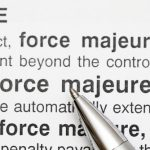 Standard residential real estate transactions do not include force majeure provisions